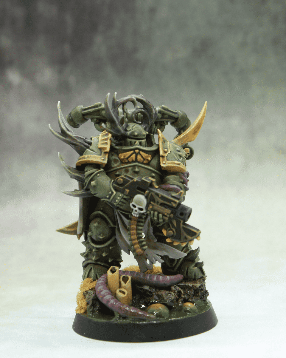 Death Guard Farbschema Testmini