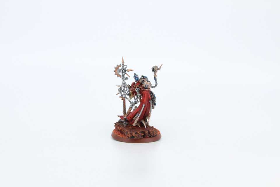 Tech Priest Dominus - Rückansicht Links