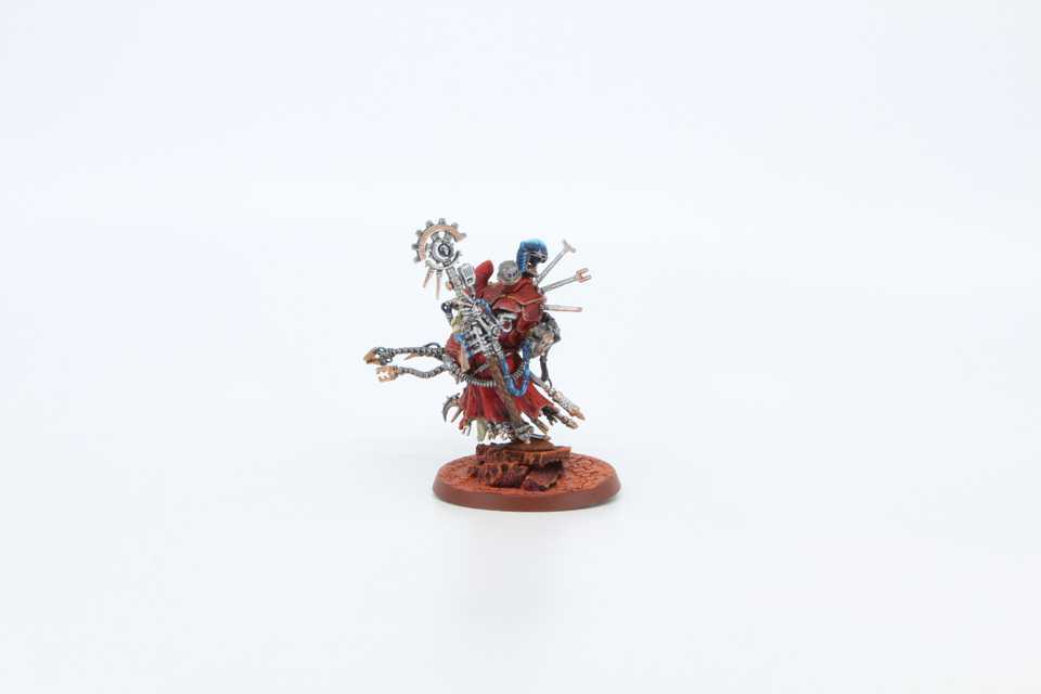 Tech Priest Manipulus - Rückansicht Links
